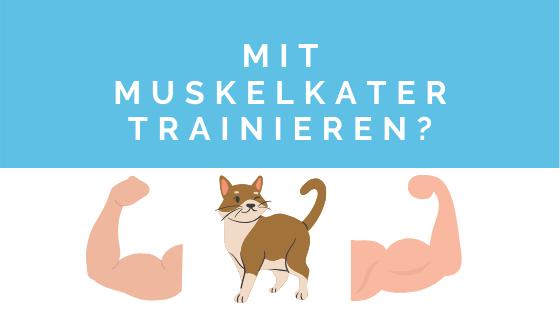 sollte man mit muskelkater trainieren